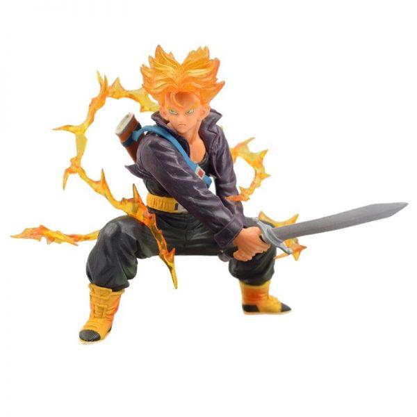 trunks saiyan battle version action figure 2