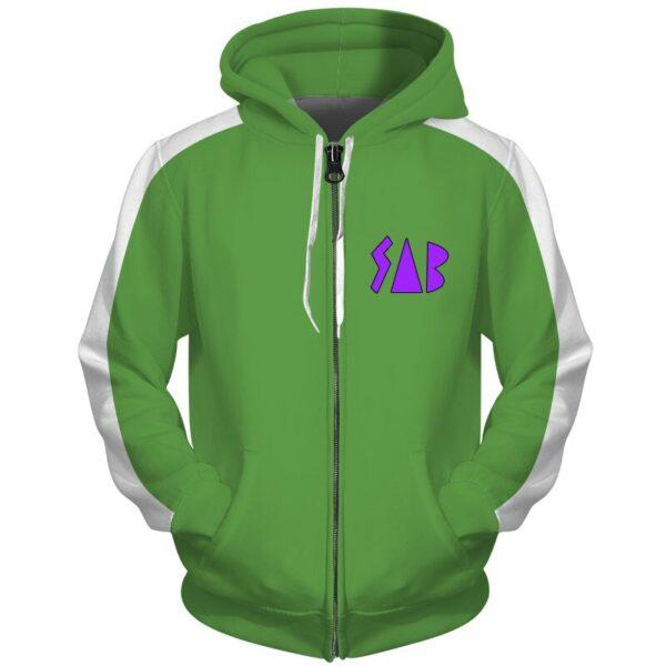vegeta sab green jacket