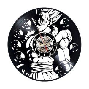 vegito super star vinyl record wall clock