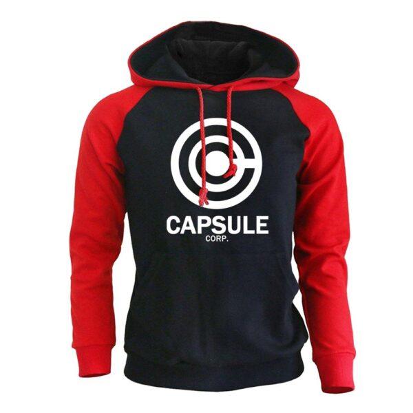 capsule corp red hoodie