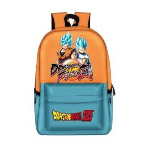 dragon ball fighter z bi color backpack