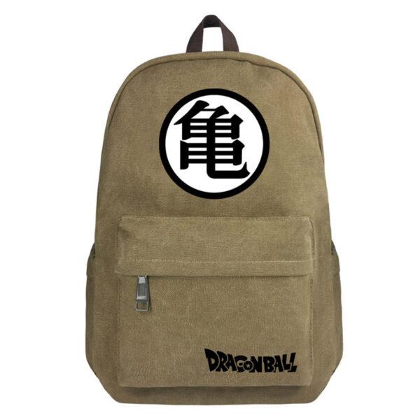 dragon ball master roshi kanji symbol kaki backpack
