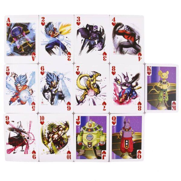 dragon ball poker decks saiyan edition 3