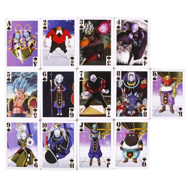dragon ball poker decks saiyan edition 6