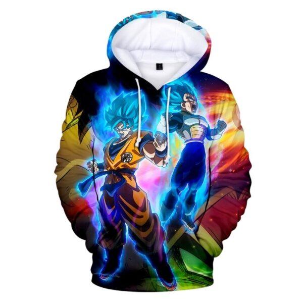 dragon ball super broly movie hoodie