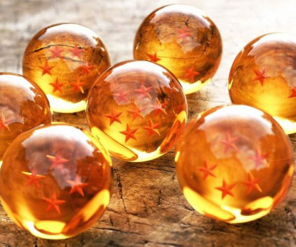 dragon ball z balls 7 stars crystal balls complete set