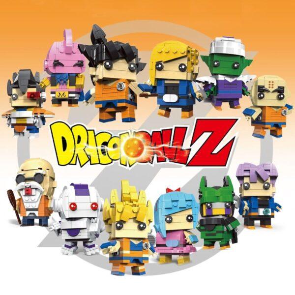 dragon ball z diy toys building blocks figures 2