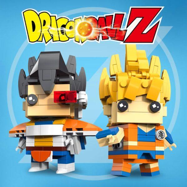 dragon ball z diy toys building blocks figures