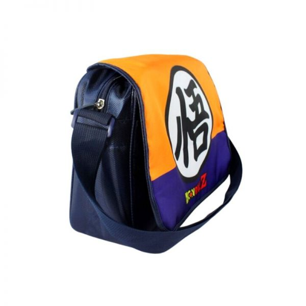 dragon ball z goku kanji symbol messenger backpack 2