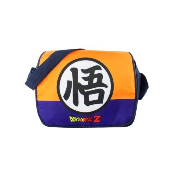 dragon ball z goku kanji symbol messenger backpack