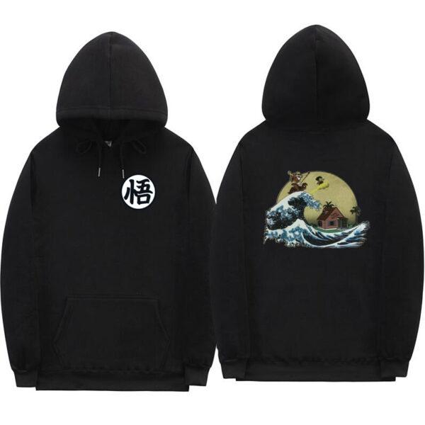 dragon ball z kame black hoodie