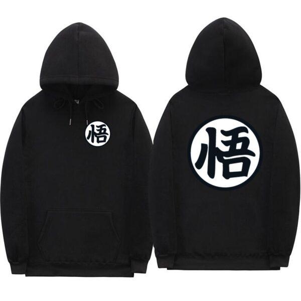 dragon ball z original black hoodie