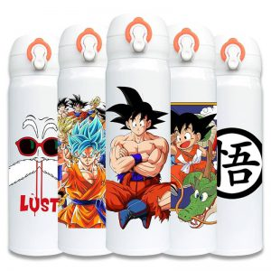 dragon ball z stainless steel thermos capacity 500ml