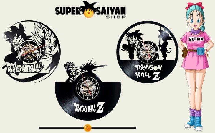 dragon ball z wall clocks