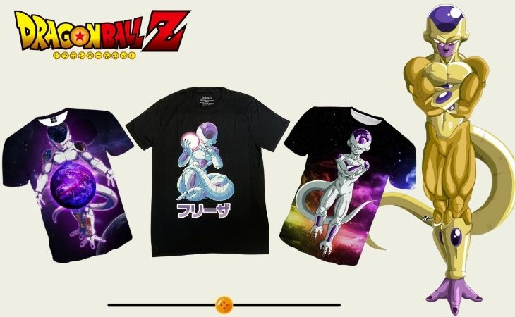 frieza t shirts collection