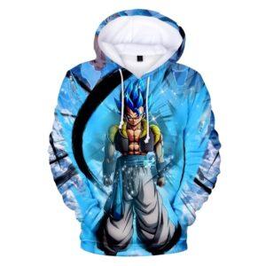 gogeta ssj super saiyan blue hoodie