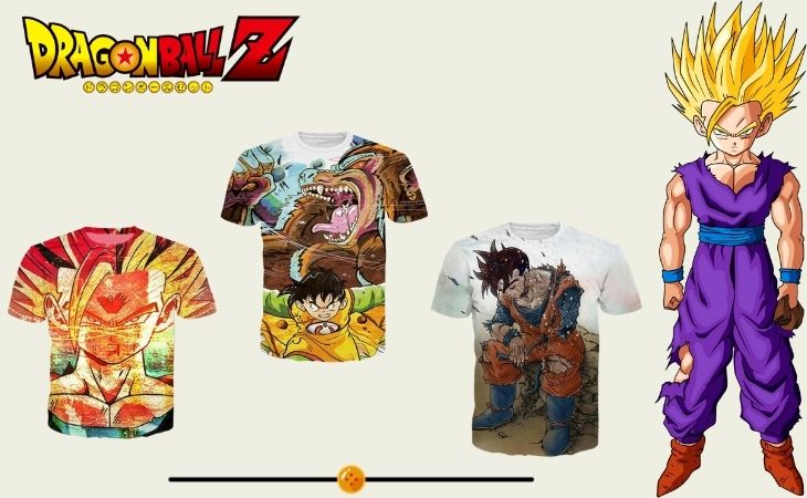 gohan t shirts collection