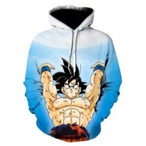 goku genkidama spirit bomb hoodie