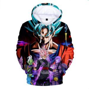 goku super saiyan blue vs zamasu legends hoodie