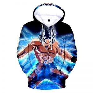goku ultra instinct hoodie