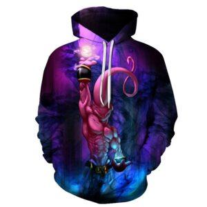 majin buu saiyan attack hoodie