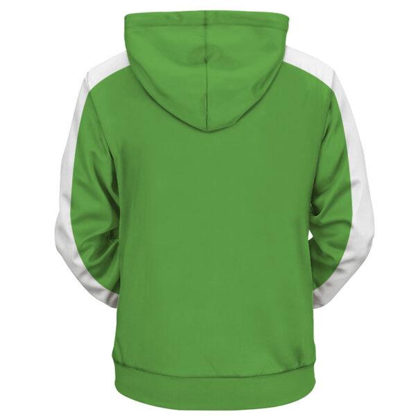 vegeta sab green jacket back