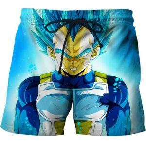 vegeta ssg super saiyan blue shorts