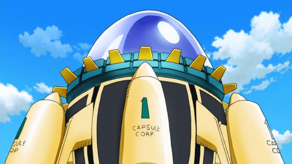 capsule corp time machine