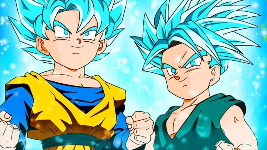 goten and trunks spirit and time chamber