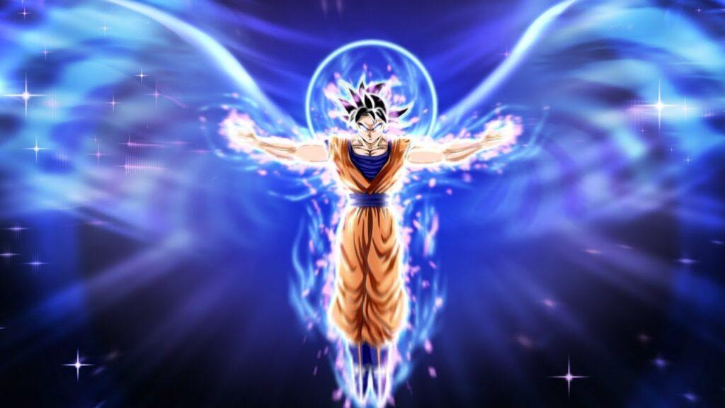 goku angel form